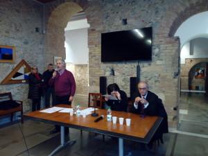 Il dottor Massimo De Buono, Coordinatore del convegno e responsabile della Sezione Braille della Biblioteca Nazionale - Foto di Pf Greco 2